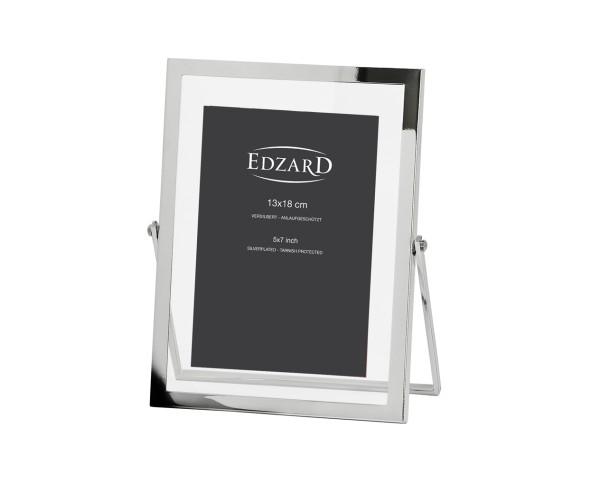 Fotorahmen Sassari für Foto 10 x 15 cm, edel versilbert, anlaufgeschützt, mit 2 Aufhängern