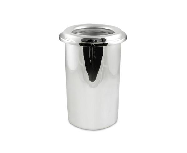Flaschenkühler Yvo mit doppelwandigem Einsatz, schwerversilbert, Durchmesser 15 cm