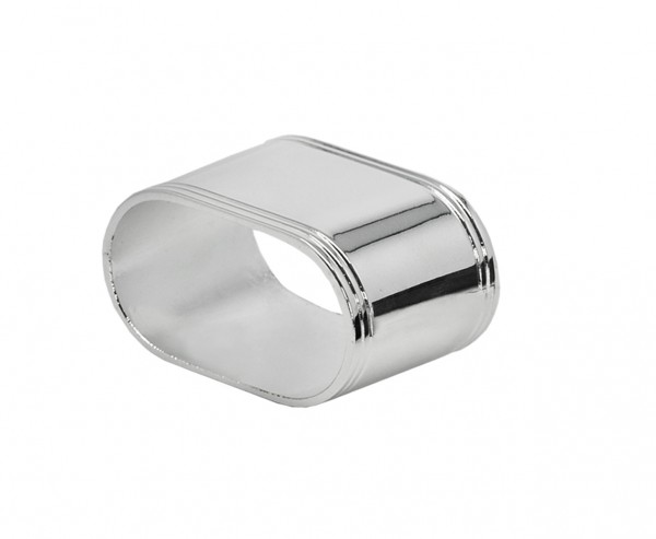 Serviettenring Faden oval L 5 cm, 4er Set